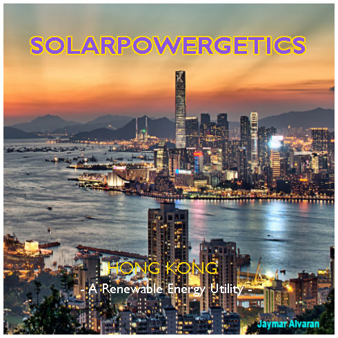 Solarpowergetics Hong Kong sunset