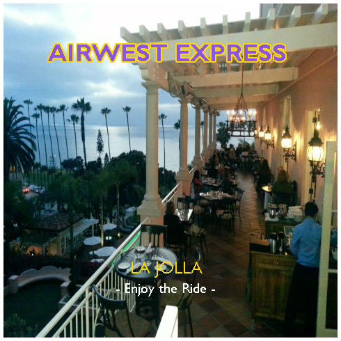Airwest Express sunset